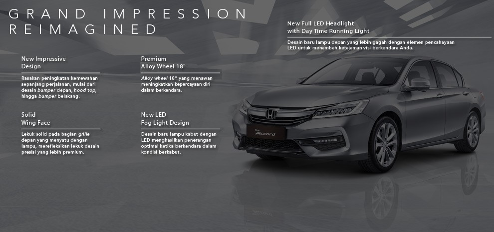 ACCORD, DEALER HONDA PONDOK INDAH